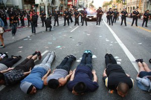 Hollywood Riot Planking